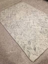 new west elm vines wool rug in neutral 5 x 8 nwt free tax free