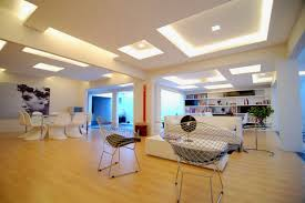 Interior:Luxury Master Bedroom With Glowing Deep Tray Ceiling Design Also  Striped Wallpaper Amusing Deep