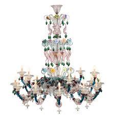 semi rezzonico murano glass chandelier striulli vetri d intended for chandeliers prepare 5