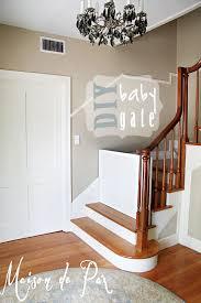 DIY Classy Baby Gate - Maison de Pax