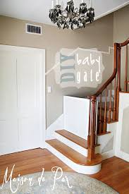 but i am pleased to say i find this to be one of those paradoxically beautiful things a classy baby gate