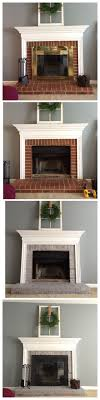 one of the first things i wanted to change when we moved into our home was the fireplace i have always thought of the fireplace as the