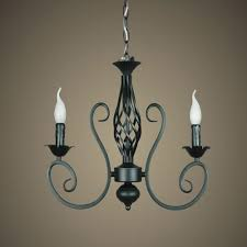 image of awesome wrought iron chandelier