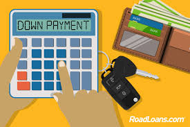 road loan com how much should a down payment on a car be roadloans