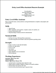 Office Assistant Sample Resume Resume For Office Assistant Examples ...