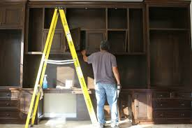 home office cabinets. Plain Home Custom Builtin Mahogany Wood Home Office Cabinets Inside