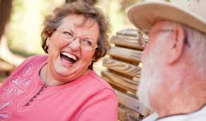 Image result for elderly couple laughing