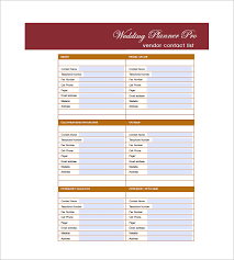 Excel Guest List Wedding Guest List Template 10 Free Word Excel Pdf Format