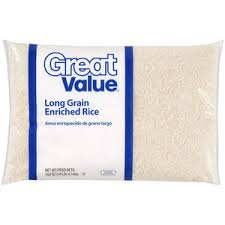 bag of white rice. Interesting Bag We Stopped Eating White Rice And All Things Ie Flour Sugar Etc  A While Ago So It Seemed Odd To Put That Bag Of Into The Shopping  In Bag Of White Rice R