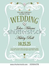 wedding invitation card design vector border stock vector Wedding Invitations Design Vector wedding invitation card design in vector with border wedding invitations design vector free download