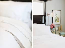 serena and lily duvet showcasing white bedding