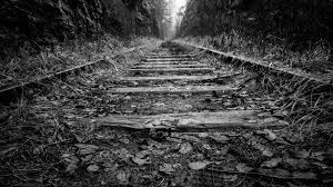 Black and white photo wallpaper