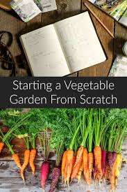 learn how to start a vegetable garden from scratch and become a successful gardener these