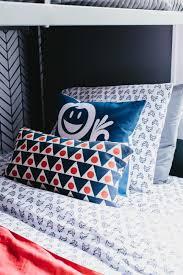 Shared Boys Bedroom Colorful Pattern Filled Shared Boys Bedroom 2014 Hgtv