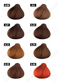 Streak Color Chart Haircolor And Hair Dye Colours Chart Colour Numbers 5