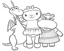 Doc Mcstuffins Halloween Coloring Pages Chilly Stuffy Book As