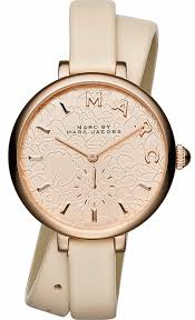 double wrap leather watch mj1418 loading zoom
