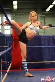 Blue Angel Sabrinka Lesbian Wrestling Nude Fight Club 11976