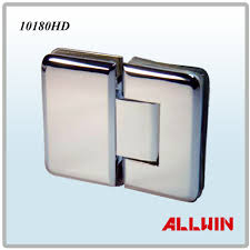 brass heavy duty 180 degree glass to glass shower glass door hinge