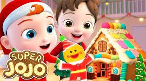 Ngôi nhà bánh gừng giáng sinh | Giáng sinh vui vẻ của JoJo | Nhạc thiếu nhi  đêm Noel