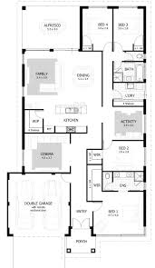 two bedroom house floor plans intended for 4 bedroom house plans home designs celebration homes