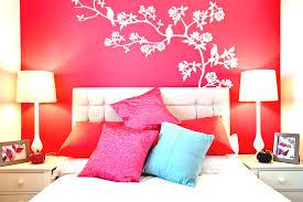 bathroom wall decorating ideas. Bedroom Diy Wall Decor Ideas Double Traditional Table Lamp Black Fur Rug Concrete Cocoa Paint Color Bathroom Decorating