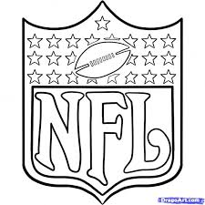 Nfl Logo Coloring Pages Color Bros