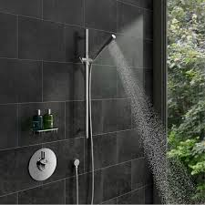 minimalist concealed thermostatic shower valve
