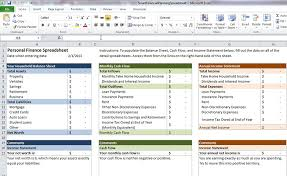 personal finance excel smart financial planning spreadsheet