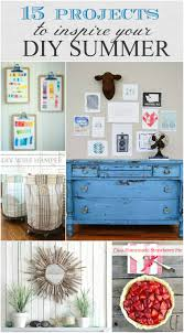 15 projects to inspire your diy summer all from the inspiration exchange