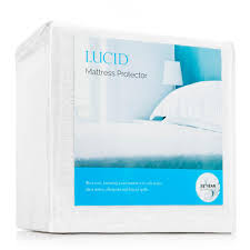 waterproof mattress protector. Lucid Polyester King Premium Waterproof Mattress Protector Waterproof Mattress Protector T