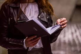 Image result for girl with book