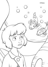 Small Picture Wendy and fishes coloring pages Hellokidscom