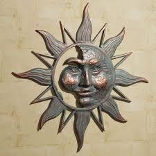 garden sun decor on talavera metal wall art with garden sun decor kemist orbitalshow