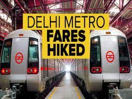 Delhi Metro New Fare Chart 2018 19 Airport Metro Fare