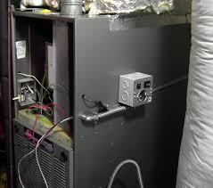 transfer switch gas furnace install