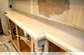 cleaning concrete countertops before sealing sanding unsealed apt wet grinder
