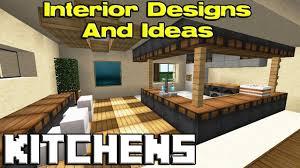 Minecraft Kitchen Minecraft Kitchen Designs Youtube
