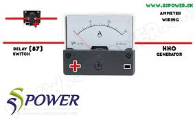 wiring diagrams hho wiring schceme ammeter for hho generator