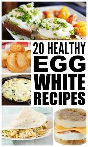 Make the most of leftover egg whites by whipping them into light desserts such as meringues, pavlovas and macarons or savoury dishes like frittatas or dumplings. 20 Healthy Egg White Recipes