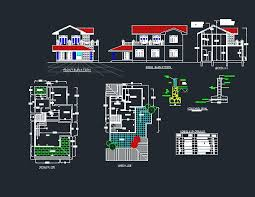 Autocad Draftsman Autocad Draftsman Some Example My Housing Plans Drawings Images