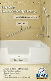 the easy step bathroom safety package