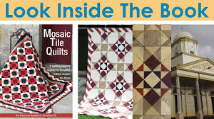 Look Inside Mosaic Tile Quilts - YouTube & Look Inside Mosaic Tile Quilts Adamdwight.com
