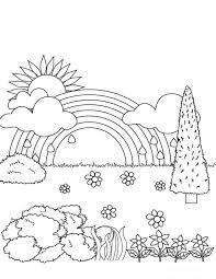 Afbeelding Tekening Regenboog Information And Ideas Herz Intakt