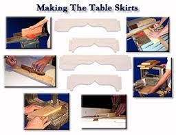 next we move on to making the table skirts the topics in this chapter include selecting the boards flattening then planing the pieces