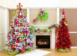 Colored Christmas Tree Theme Best Baby Nursery Glamorous The Most