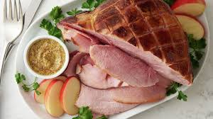 slow cooker honey mustard glazed ham