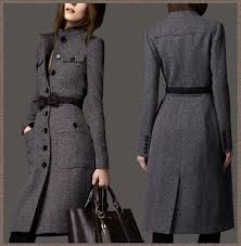 2019 whole 2016 european fashion women s designer winter cashmere trench coat wool las maxi long outerwear bow tie belt grey wj3001 from apparelone