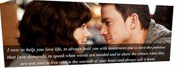 The Vow Quotes Custom Quotes About Movies 48 Quotes