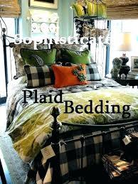 tartan plaid bedding green sophisticated on
